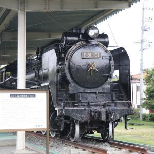 08/16 保存蒸気 D51 101、C58 49、天竜浜名湖鉄道うなぴっぴごー