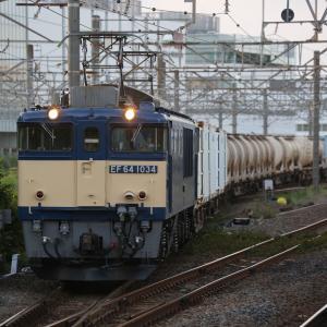 1094レ EF64 1034、相鉄20000系、旧7000系