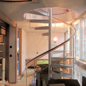 ピアノ室のある小住宅 珪藻漆喰塗り確認