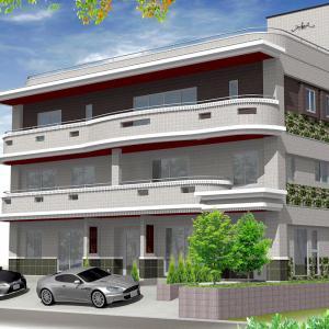 川口市RC3階共同住宅 実施設計終了
