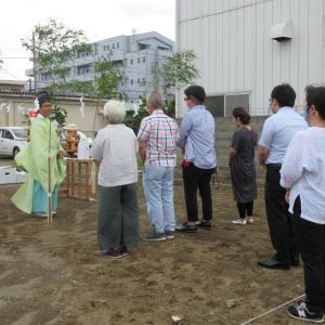 平塚の二世帯住宅 地鎮祭