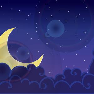 子守唄でフランス語 ~ Au clair de la lune
