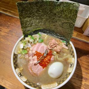 渋谷東口🍜すごい煮干ラーメン凪「超濃厚🐟煮干ラーメンを真夏日に食べる。」