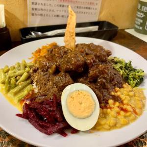 大阪 九条🍛ロッダグループ「10種のギャミラサ🇱🇰スリランカ家庭の味。」