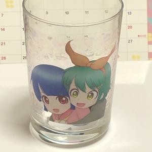 SUZURIで製作したグラスが届きました\( ・ω・ )/