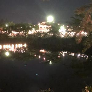 丹波篠山のデカンショ祭行ってきた