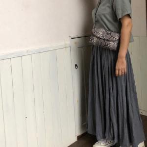 色違いした、Rananのスカート