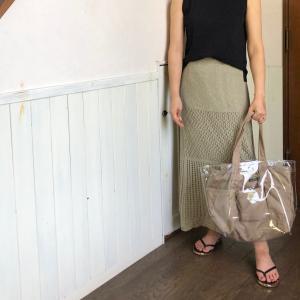 夏らしいLLbeanのバッグ