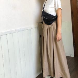 cocaのラインの綺麗なスカート…とシャトレーゼの神アイス