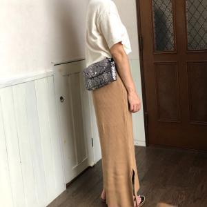 LEPSIMの着痩せ効果抜群のスカート