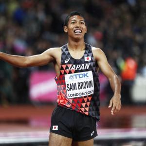 【日本陸上】サニーブラウン選手、大会新記録で男子100m優勝!