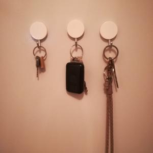 【無印良品】鍵をなくさない、忘れない。玄関ドアを使った収納