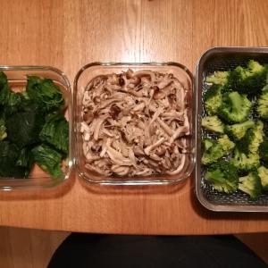 【家事の時短】週末の前日か土曜の午前中にすること。まとめて野菜を茹でます