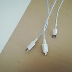 小さな困りごとを改善。スマホの充電コードに目印をつける