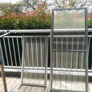 網戸を洗って、窓まわりがピカピカに。少しずつ大掃除をすすめています