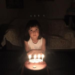 誕生日ケーキの思い出