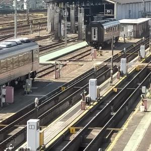 電車好きにおすすめ ささしま米野歩道橋と向野橋から見る鉄道のある風景(名古屋市中村区)