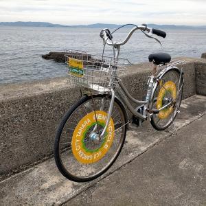 無料レンタサイクルでサンテパルクたはらへサイクリング(田原市)