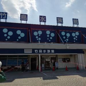 今なにかと話題の竹島水族館に行ってきました