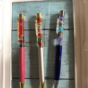 日野市ビーズ教室ハーバーリュウムのボールペン1日参加募集中