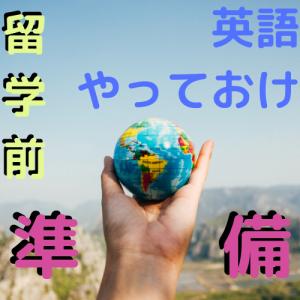 留学に英語の準備はどれくらい必要?【やっておくべきことを語る】