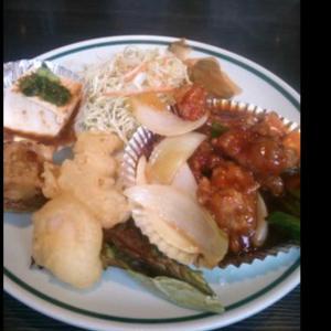 酢豚と餃子