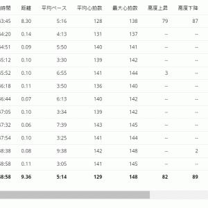 仲間と走るメリットを実感!!!40分jog+WS×6【20210307】