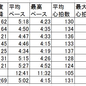 「ピキッ」足底が・・・15kmイージーランニング【20190709】
