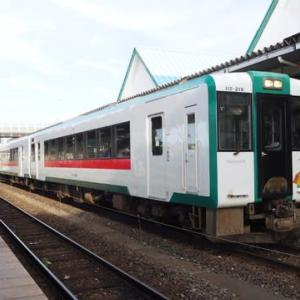 復興の町から夕暮れの仙台平野へ 石巻線を完乗!