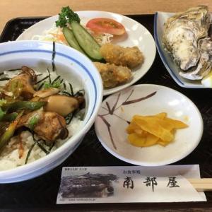 旅するどんぶり 松島海岸「かき丼」