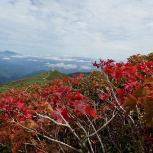 2019年9月21-22日 古寺・大朝日・鳥原山1