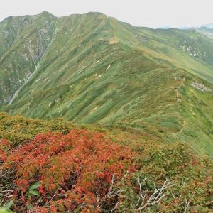 2019年9月21-22日 古寺・大朝日・鳥原山2