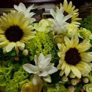 お花のプレゼント。