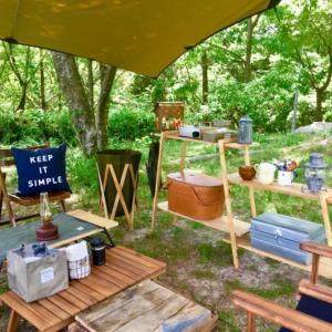アウトドア&キャンプのテーブル種類と特徴!比較してみた!