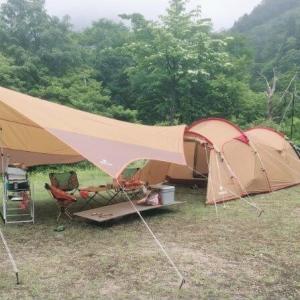 無料キャンプへGO!上市町馬場島キャンプ場(富山県)