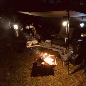 BUNDOK(バンドック)ソロベースでソロデビュー!グリーンパークおおしまキャンプ場(富山県)
