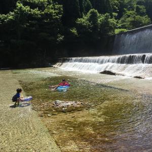 格安!幼児でも楽しく水遊び!魚津市片貝山ノ守キャンプ場(富山県)