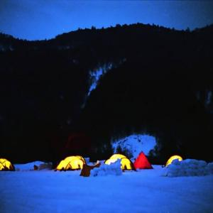 格安!冬の雪上キャンプとスキー&スノボと同時に楽しみたい!