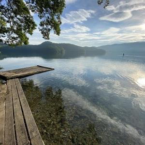 格安に夏でも涼しく水遊びなら青木湖でしょ!青木荘キャンプ場【長野県】