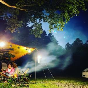 格安に御嶽山の登山道口で避暑キャンプ!胡桃島キャンプ場(岐阜県)
