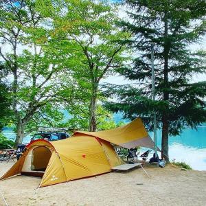 格安レンタルボートでヒメマス釣り!青木湖キャンプ場(長野県)【前編】