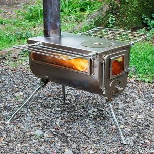 冬キャンプ憧れの薪ストーブ!煙突長めのテント内使用可能な薪ストーブ7選!