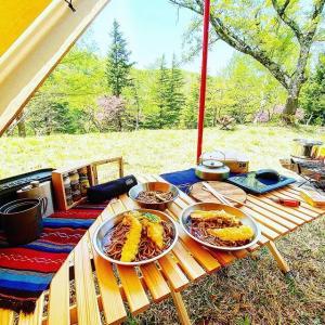 GWは人が少ない穴場でファミリーキャンプ!杉ヶ平キャンプ場!(富山県)