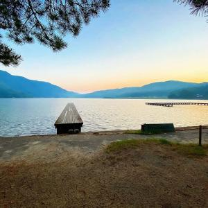 湖畔でSUPと温泉を堪能できる!木崎湖キャンプ場【徹底解説】(長野県)