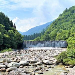 清流で夏の水遊びに最適!片貝山ノ守キャンプ場!(富山県)