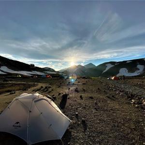 北アルプス立山でのテント泊は絶景!雷鳥沢キャンプ場!(富山県)【前編】