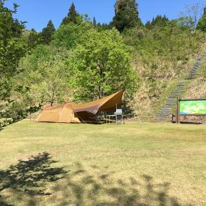 キャンプへGO!ふるさと剱親自然公園キャンプ場(富山県)
