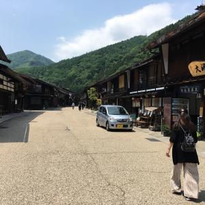 手軽に車中泊!中山道の奈良井宿へGO~!(長野県)