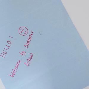 【夏休みはサマースクール!】英語力を伸ばしてあげたい。
