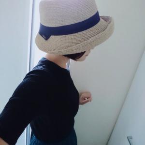 【今夏、愛用した帽子】来年もよろしくね!
